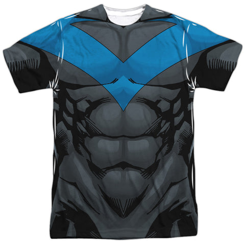 Batman - Nightwing Costume Tee T-Shirt - Societee Norms - 1