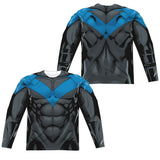 Batman - Nightwing Costume Tee T-Shirt - Societee Norms - 3