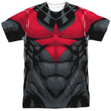 Batman - Nightwing (red) Costume Tee T-Shirt - Societee Norms - 4