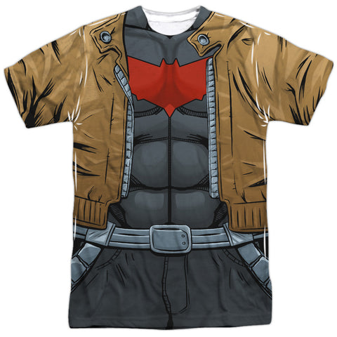 Batman - Red Hood Costume Tee T-Shirt - Societee Norms - 1