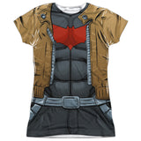 Batman - Red Hood Costume Tee T-Shirt - Societee Norms - 7