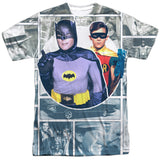 Batman Classic TV Series - Panels T-Shirt - Societee Norms - 1