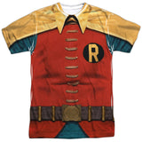 Batman Classic TV Series - Robin Costume Tee T-Shirt - Societee Norms - 1