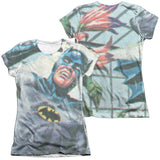 Batman Classic TV Series - Foliage T-Shirt - Societee Norms - 5