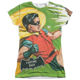 Batman Classic TV Series - Fighting Back T-Shirt - Societee Norms - 11