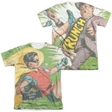 Batman Classic TV Series - Fighting Back T-Shirt - Societee Norms - 3