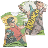 Batman Classic TV Series - Fighting Back T-Shirt - Societee Norms - 5