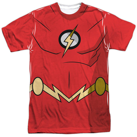 Batman Unlimited - Flash Costume Tee T-Shirt - Societee Norms - 1