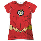 Batman Unlimited - Flash Costume Tee T-Shirt - Societee Norms - 6