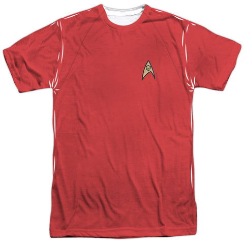 Star Trek - Red Shirt Costume Tee T-Shirt - Societee Norms - 1