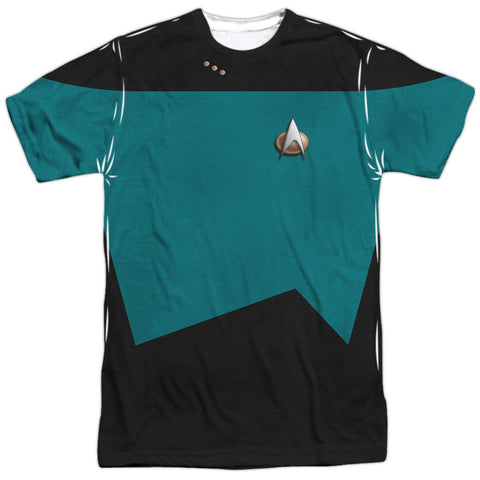 Star Trek The Next Generation - Science Costume Tee T-Shirt - Societee Norms - 1