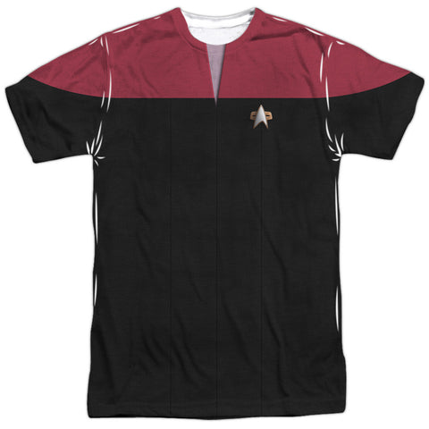 Star Trek Voyager - Command Costume Tee T-Shirt - Societee Norms - 1