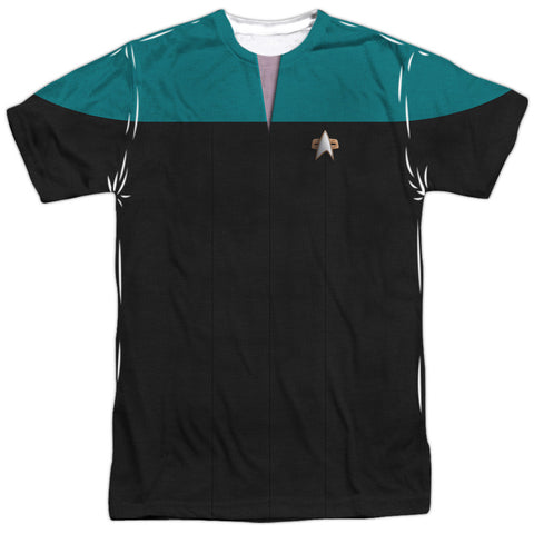 Star Trek Voyager - Science Costume Tee T-Shirt - Societee Norms - 1
