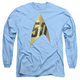 Star Trek 50th Anniversary - Delta (blue) T-Shirt - Societee Norms - 2