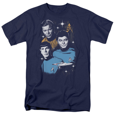 Star Trek 50th Anniversary - All Star Crew T-Shirt - Societee Norms - 1
