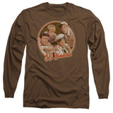 ANDY GRIFFITH/50 YEARS-L/S ADULT 18/1-COFFEE-SM T-Shirt - Societee Norms - 1
