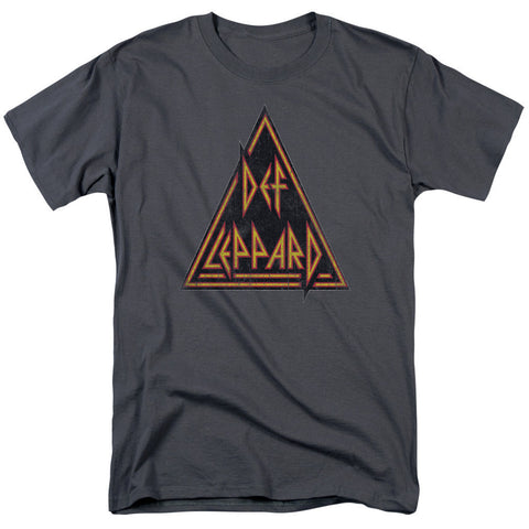 Def Leppard - Distressed Logo T-Shirt - Societee Norms - 1