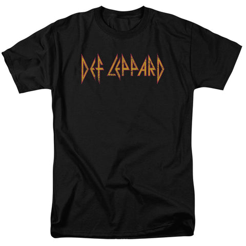 Def Leppard - Horizontal Logo T-Shirt - Societee Norms - 1