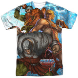 Masters of the Universe - Heroes and Villains T-Shirt - Societee Norms - 1