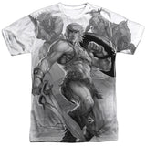 Masters of the Universe - B&W T-Shirt - Societee Norms - 4