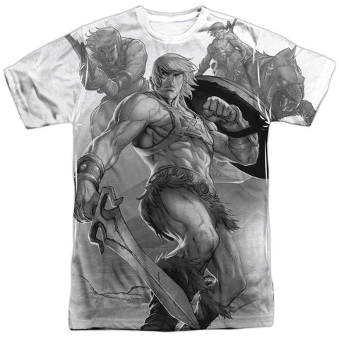 Masters of the Universe - B&W T-Shirt - Societee Norms - 1