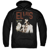 ELVIS/VIVA STAR-ADULT PULL-OVER HOODIE-BLACK-SM T-Shirt - Societee Norms - 1
