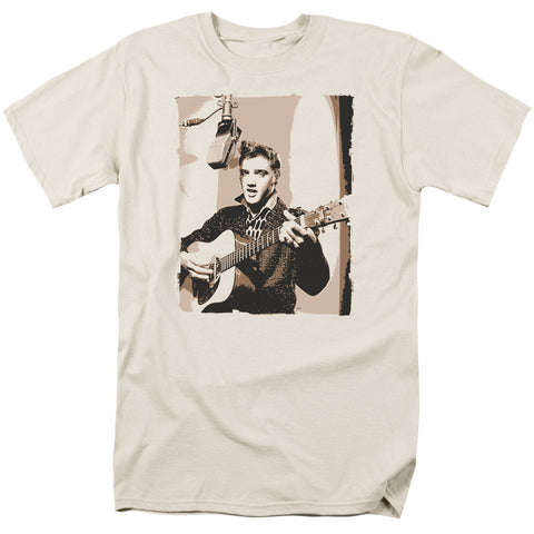 Elvis Presely - Sepia Studio T-Shirt - Societee Norms - 1