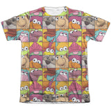 FRAGGLE ROCK - CHARACTER SQUARES T-Shirt - Societee Norms - 2