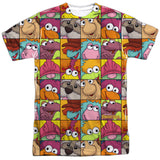 FRAGGLE ROCK - CHARACTER SQUARES T-Shirt - Societee Norms - 1