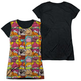 FRAGGLE ROCK - CHARACTER SQUARES T-Shirt - Societee Norms - 8