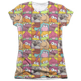 FRAGGLE ROCK - CHARACTER SQUARES T-Shirt - Societee Norms - 9