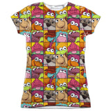 FRAGGLE ROCK - CHARACTER SQUARES T-Shirt - Societee Norms - 10