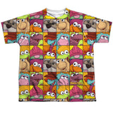 FRAGGLE ROCK - CHARACTER SQUARES T-Shirt - Societee Norms - 11