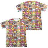 FRAGGLE ROCK - CHARACTER SQUARES T-Shirt - Societee Norms - 3