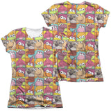 FRAGGLE ROCK - CHARACTER SQUARES T-Shirt - Societee Norms - 5