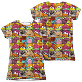 FRAGGLE ROCK - CHARACTER SQUARES T-Shirt - Societee Norms - 6