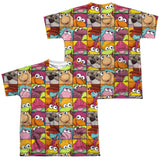 FRAGGLE ROCK - CHARACTER SQUARES T-Shirt - Societee Norms - 7