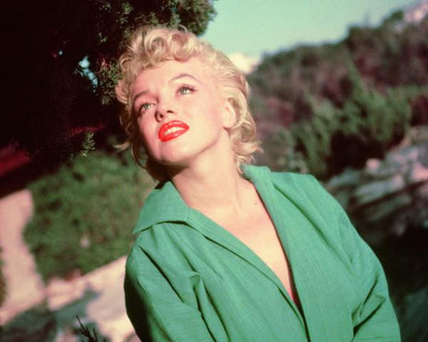 Marilyn Monroe - 1951 (green shirt)  photo