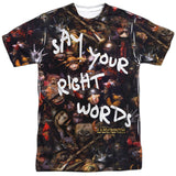 Labyrinth - Right Words T-Shirt - Societee Norms - 1