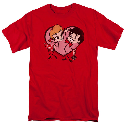 I Love Lucy - Cartoon Love T-Shirt - Societee Norms - 1