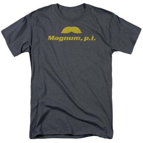 MAGNUM PI - THE STACHE T-Shirt - Societee Norms - 1
