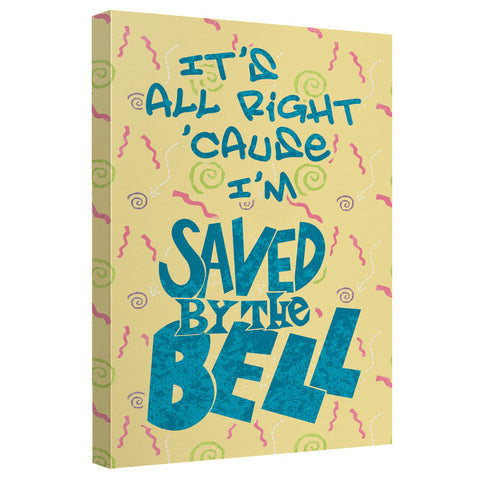 SAVED BY THE BELL - ALL RIGHT T-Shirt - Societee Norms