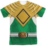 Power Rangers - Green Ranger Costume Tee T-Shirt - Societee Norms - 1