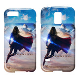Supergirl TV Series - Endless Sky   Smartphone / Tablet Case T-Shirt - Societee Norms - 1