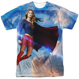Supergirl TV Series - Up in the Sky T-Shirt - Societee Norms - 1