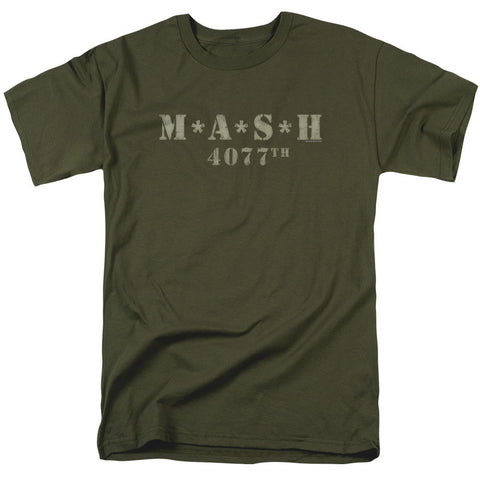 MASH - DISTRESSED LOGO T-Shirt - Societee Norms - 1