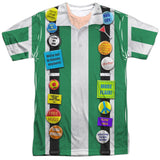 Office Space - Chotchkies / Pieces of Flair Costume Shirt T-Shirt - Societee Norms - 1