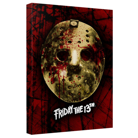 FRIDAY THE 13TH - BLOODY MASK T-Shirt - Societee Norms - 1