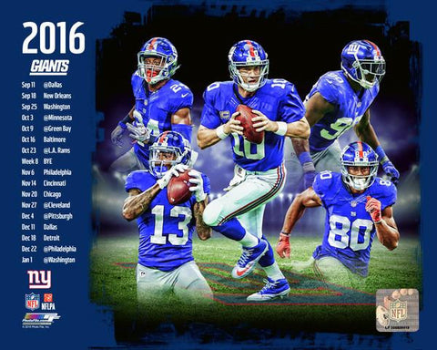 New York Giants 2016 Team