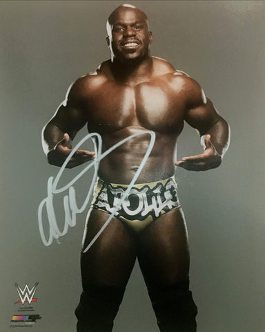 Apollo Crews - Autographed WWE 8x10 Photo